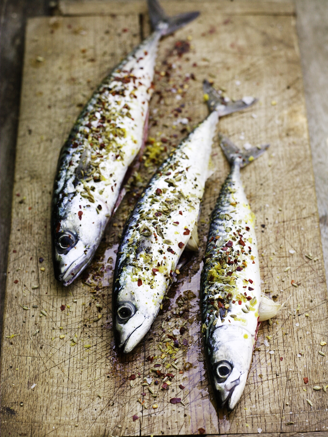 bbq mackerel